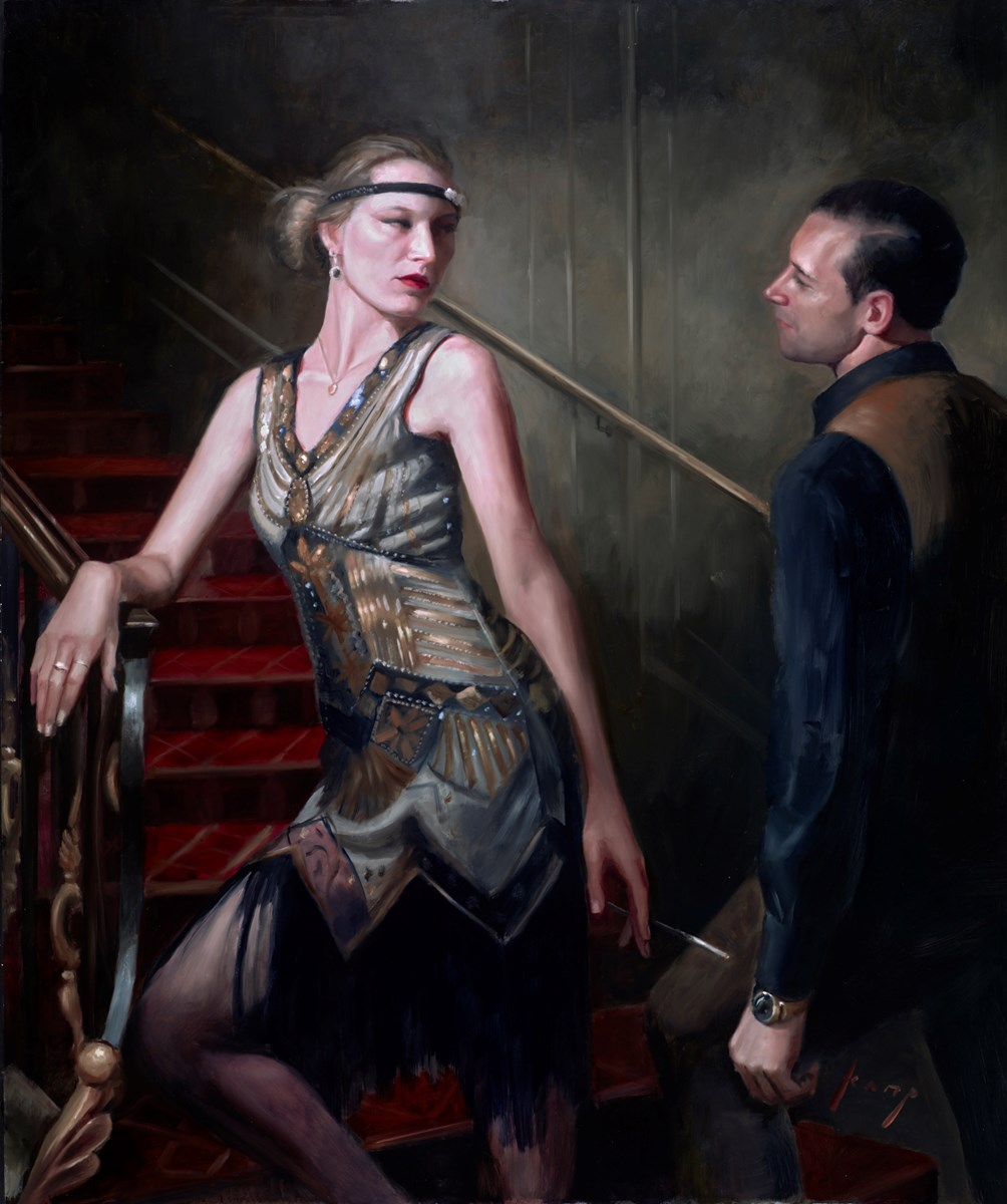 A Moment of Doubt by vincent kamp -  sized 39x47 inches. Available from Whitewall Galleries